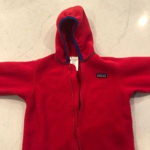 Patagonia red fleece